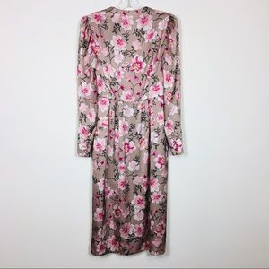 Gal Meets Glam Dresses - NEW! Gal Meets Glam Carla Floral Button Down Dress